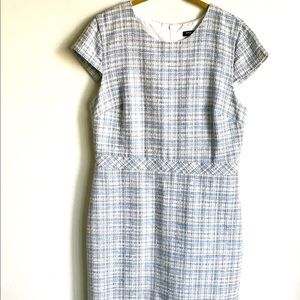 Banana Republic Dress Small Multicolor Plaid